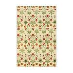 Flower Garden Tapestry Mini Poster Print