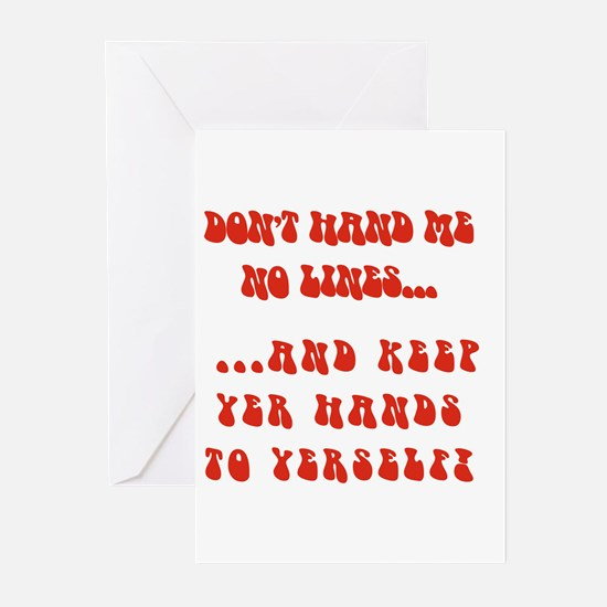 Hands To Yerself Greeting Cards (Pk of 10)