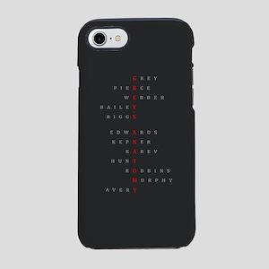 Grey's Horizontal Character Na iPhone 7 Tough Case