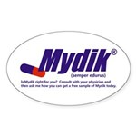 Mydik Sticker (Oval)