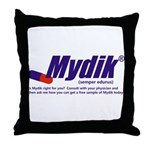 Mydik Throw Pillow