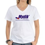 Mydik Women's V-Neck T-Shirt
