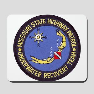 Missouri Highway Patrol Dive Mousepad