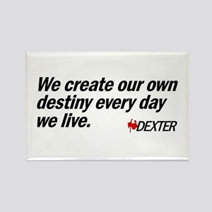 We Create Our Own Destiny Rectangle Magnet