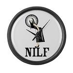 NILF Large Wall Clock