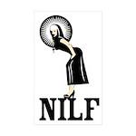 NILF Sticker (Rectangle 10 pk)