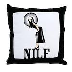 NILF Throw Pillow