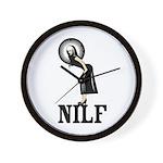 NILF Wall Clock