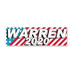 Warren 2020 Car Magnet 10 X 3