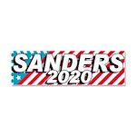 Sanders 2020 Car Magnet 10 X 3