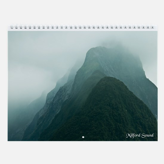 New Zealand's South Island Wall Calendar