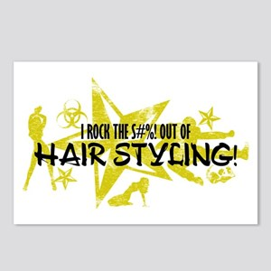 I ROCK THE S#%! - HAIR STYLING Postcards (Package