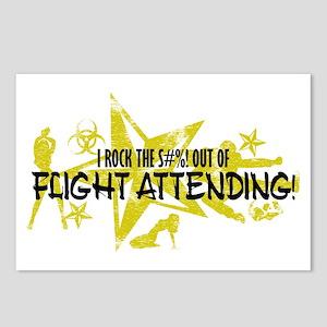 I ROCK THE S#%! - FLIGHT ATT Postcards (Package of