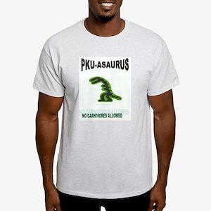 PKU-ASAURUS Apparel Ash Grey T-Shirt