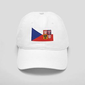 Czech Republic Flag & Seal Cap