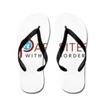 Parasites without Borders Logo Flip Flops
