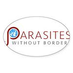 Parasites without Borders Logo Sticker