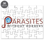 Parasites without Borders Logo Puzzle