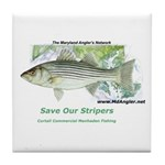Save Our Stripers - SOS Tile