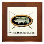 The Maryland Angler's Network Framed Tile