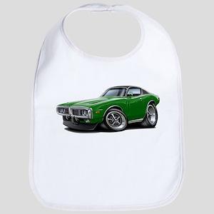 Charger Green-Black Car Bib