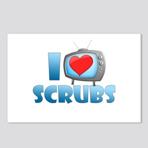 I Heart Scrubs Postcards (Package of 8)