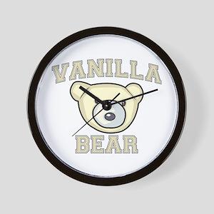 Vanilla Bear Wall Clock