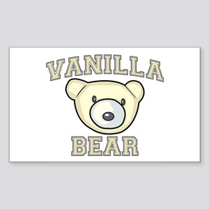 Vanilla Bear Sticker (Rectangle)