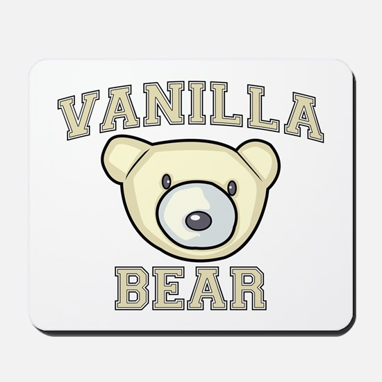 Vanilla Bear Mousepad