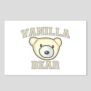 Vanilla Bear Postcards (Package of 8)