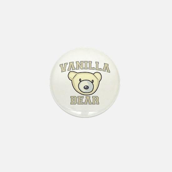 Vanilla Bear Mini Button