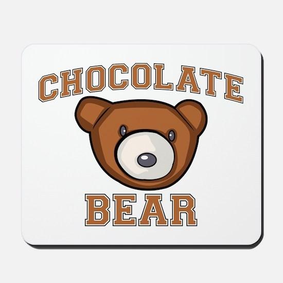 Chocolate Bear Mousepad