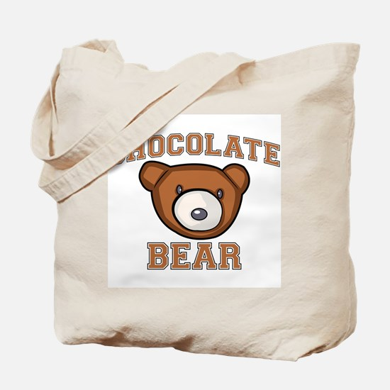 Chocolate Bear Tote Bag
