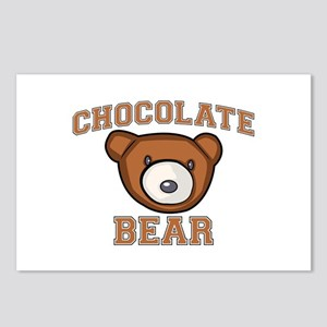 Chocolate Bear Postcards (Package of 8)