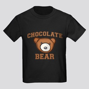 Chocolate Bear Kids Dark T-Shirt