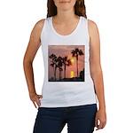 Romantic Beach Sunset Women's Tank Top