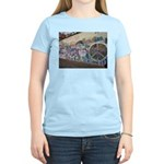 John Lennon Wall Imagine Women's T-Shirt