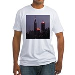 New York Twilight Fitted T-Shirt
