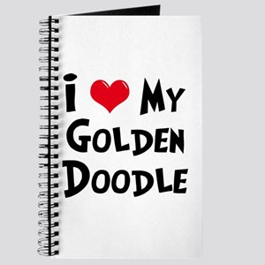 I Love My Golden Doodle Journal