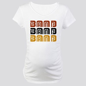 Marching Band Trio Maternity T-Shirt