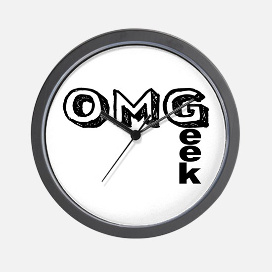 Oh My Geek Wall Clock