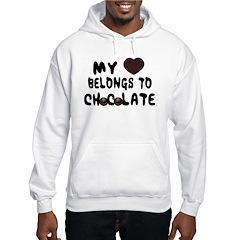 Chocolate Heart Hoodie