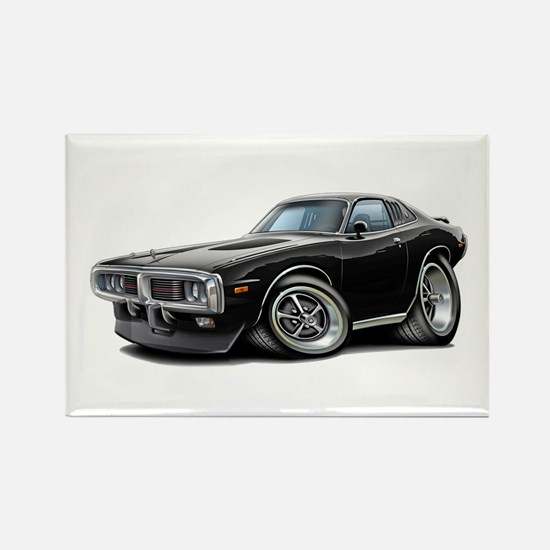 Charger Black Opera Top Rectangle Magnet