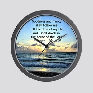 23RD PSALM Wall Clock