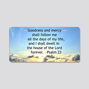 23RD PSALM Aluminum License Plate