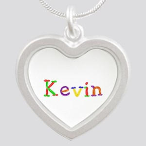 Kevin Balloons Silver Heart Necklace