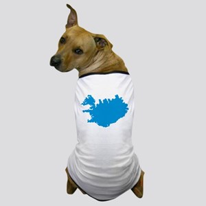 Iceland map Dog T-Shirt
