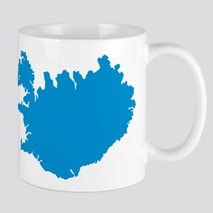 Iceland map Mug