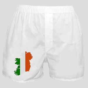 Ireland map Boxer Shorts