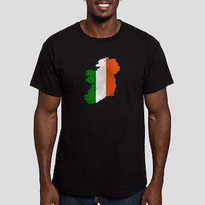 Ireland map Men's Fitted T-Shirt (dark)